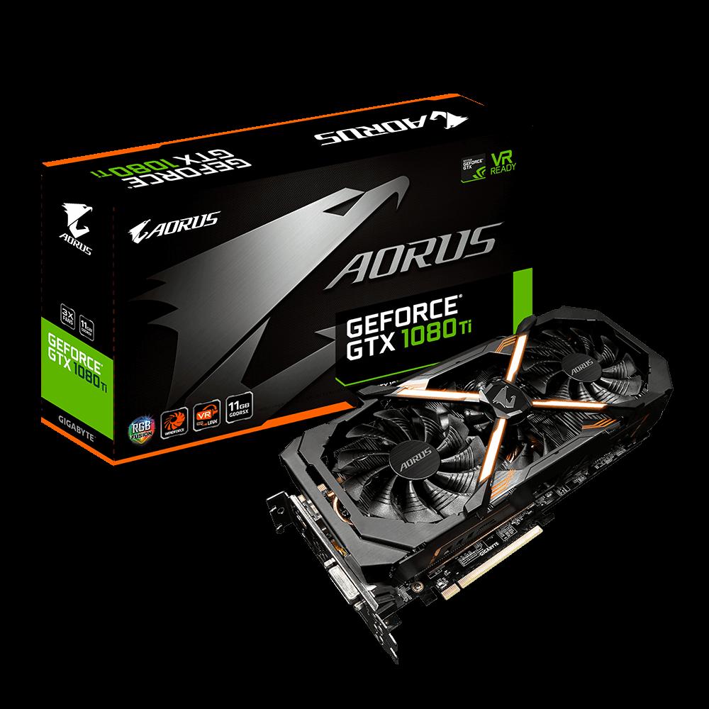 AORUS GeForce® GTX 1080 Ti 11G   AORUS