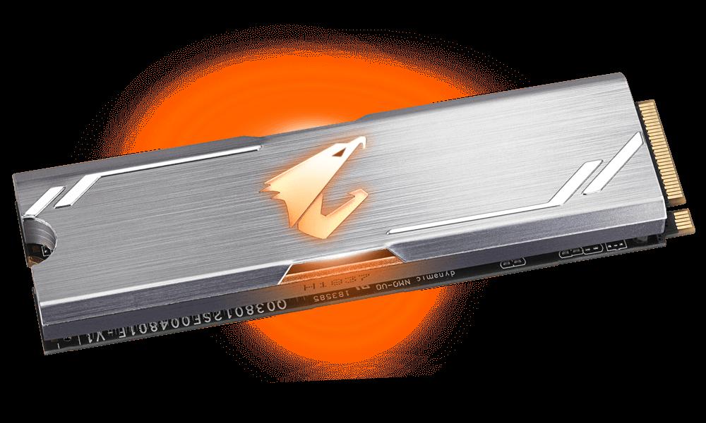 AORUS RGB M 2 NVMe SSD 256GB | AORUS
