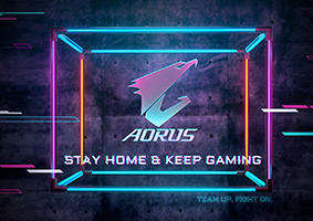 STAY HOME & KEEP GAMING