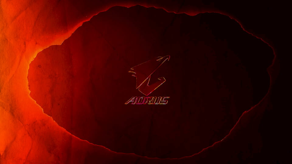 Aorus - Burned Wallpaper