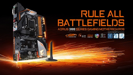 GIGABYTE Releases H370 And B360 AORUS GAMING WIFI Series Motherboards